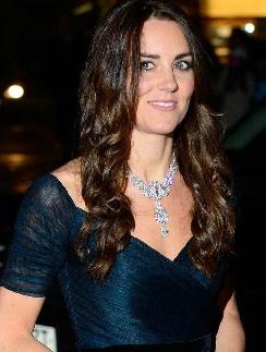 Кейт Миддлтон в платье от Ralph&Russo