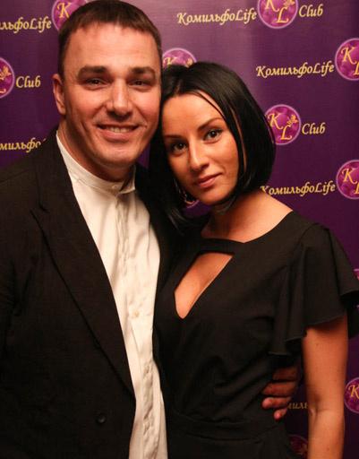 Кирилл Андреев с сестрой Наташей