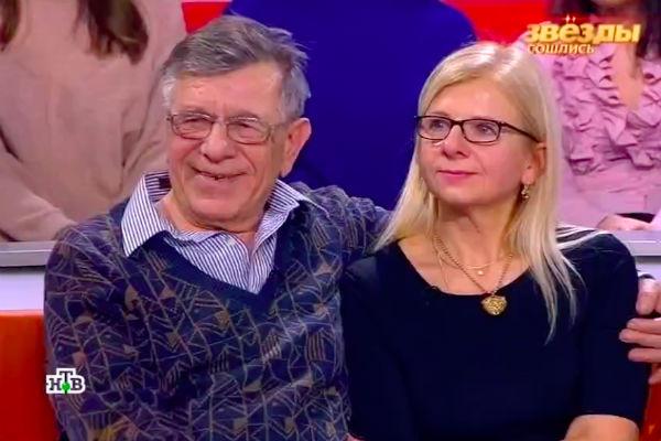 Брат Бориса Моисеева с дочерью Светланой