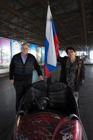 Сусанна Ардашовна и Сергей Ншанович. Декабрь 2012 год