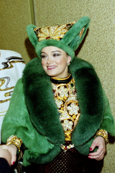 Надежда Кадышева любит необычные костюмы