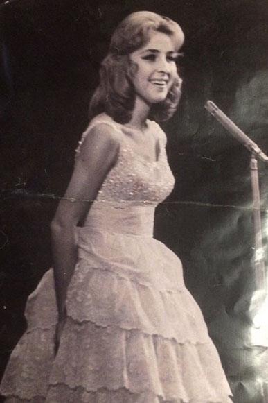 Мама Лолиты Милявской Алла Никифорова, на этом фото ей 25 лет.
