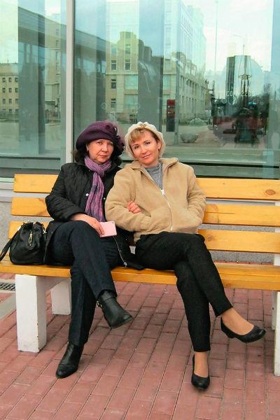 Татьяна с мамой Риммой – первой супругой писателя
