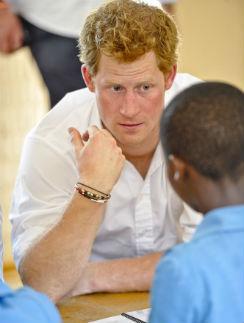 Принц Гарри активно занимается благотворительной деятельностью