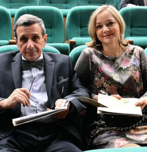 Борис Смолкин с супругой Светланой