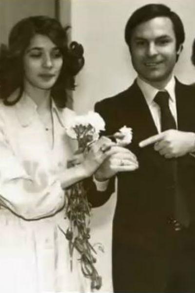 Глаголева и Нахапетов скромно поженились в 1974 году