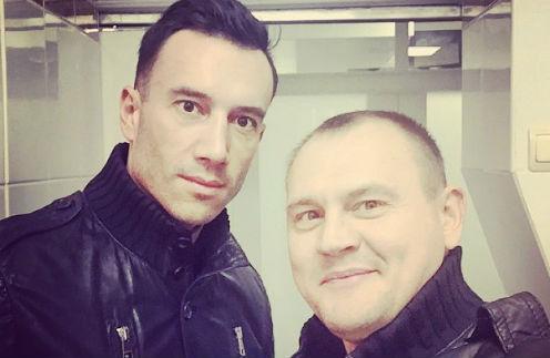 Михаил Терехин и Степан Меньщиков