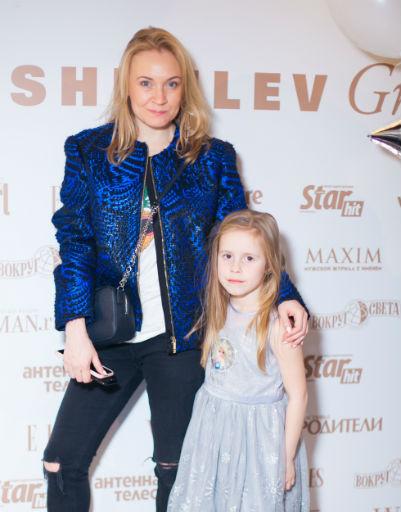 Ирина Зайцева с дочерью
