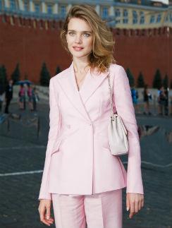 Наталья Водянова на показе Сhristian Dior в Москве