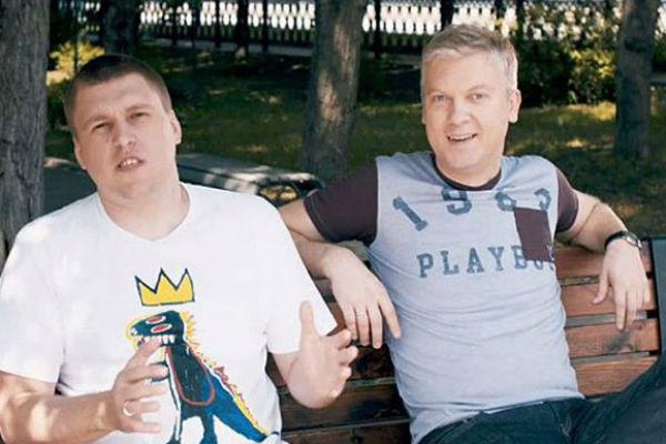 Александр Незлобин и Сергей Светлаков