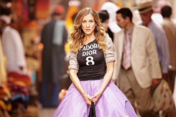 Сара Джессика Паркер в сериале «Секс в большом городе»