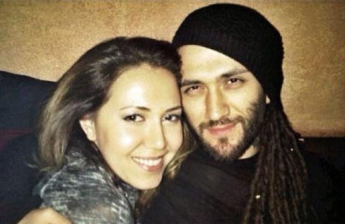Карина Кокс с мужем DJ Meg