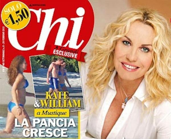 Обложка итальянского журнала Chi