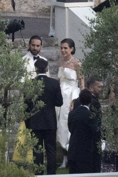 Свадьба Шарлотты и Димитрия тоже была засекреченной