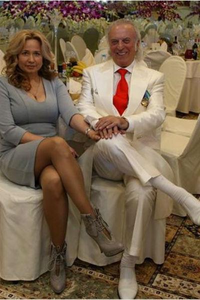 Илья Резник с супругой Ириной Романовой