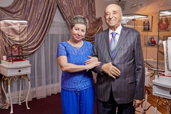 Владимир Этуш с супругой Еленой