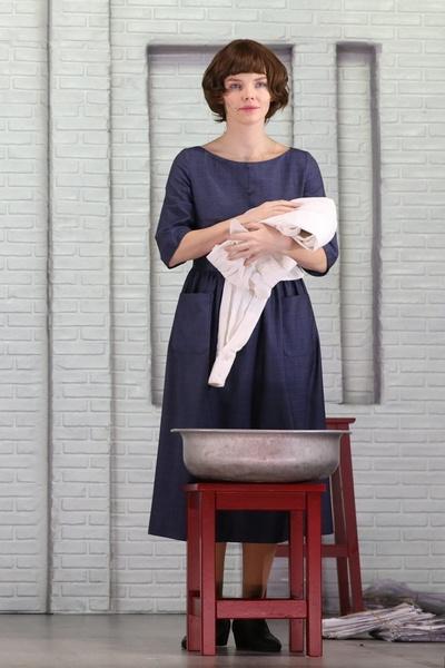 Елизавета Боярская на сцене Малого зала Филармонии