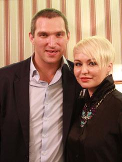 Александр Овечкин и Катя Лель