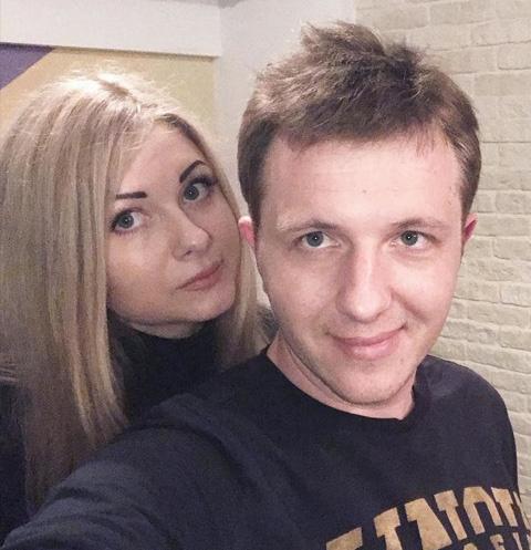 Илья Яббаров с возлюбленной