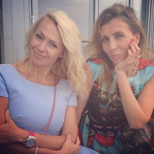 Яна Рудковская и Светлана Бондарчук