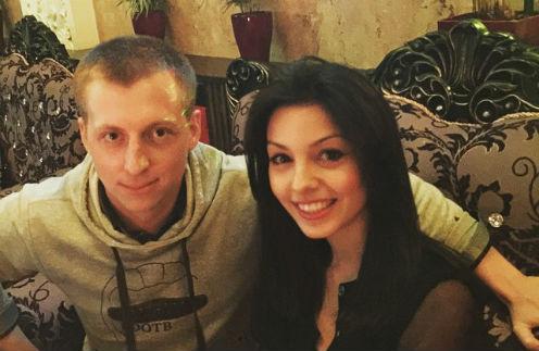 Евгений Руднев с прекрасной незнакомкой