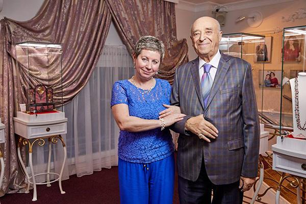 Владимир Этуш и его супруга Елена