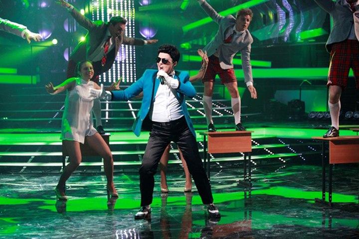 Сати Казанова исполнила Gangnam Style
