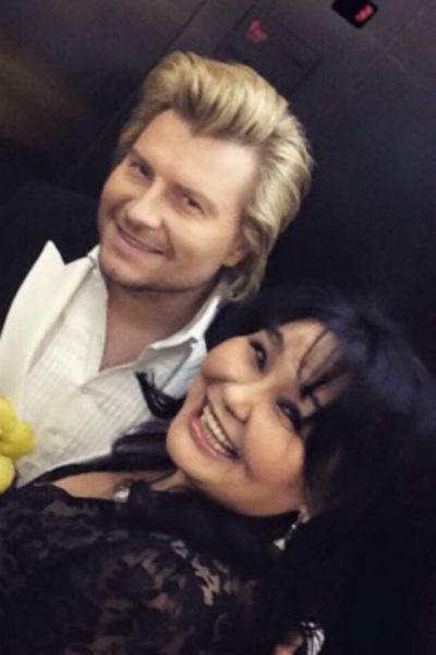Николай Басков и Клара Кузденбаева