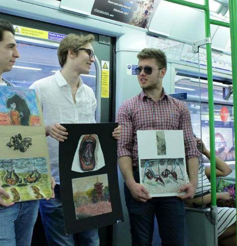 Выставка в метро пройдет 3 ноября