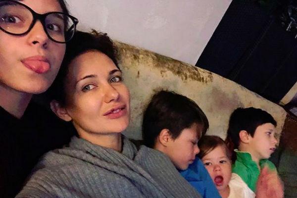 У Екатерины Климовой четверо детей