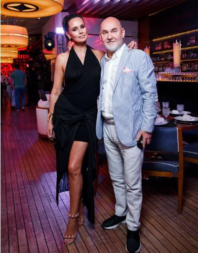 Сергей Кожевников с супругой
