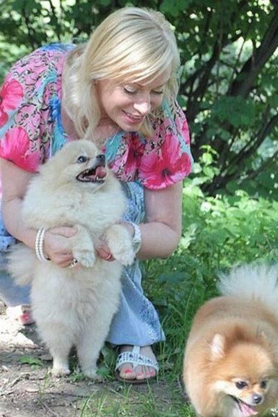 Наталия обожает животных