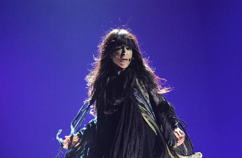 Шведская певица Лорин