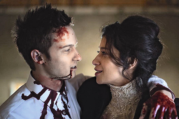 Пара вместе не только в жизни, но и на сцене. Они играли главные роли в спектакле «Черный русский»