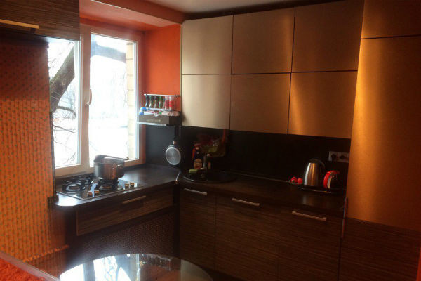 Фото кухни в квартире Оксаны Казаковой