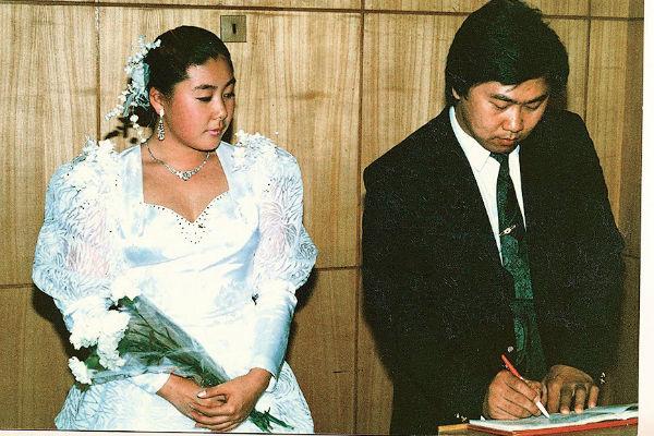 Пара сыграла свадьбу спустя три месяца после знакомства