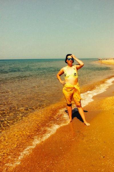 В прошлом году Ангелина отдыхала в мае в Анапе