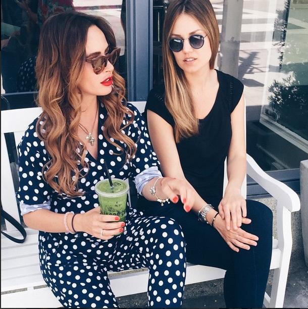 Саша Зверева и ее стилист Оля