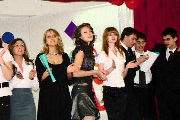 Ивлеева стремилась принять участие в каждом школьном концерте