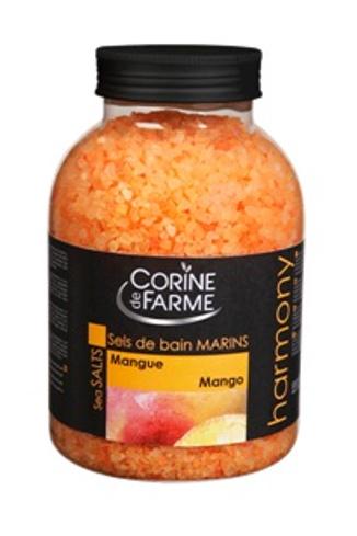 Соль для ванн Corine de farm c ароматом манго