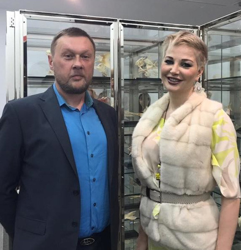 Константин Дорошенко и Мария Максакова