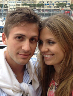 Виктория Боня и Алекс Смурфит