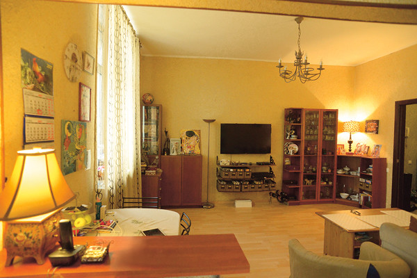 Гостиная, совмещенная с кухней, – любимое место дома