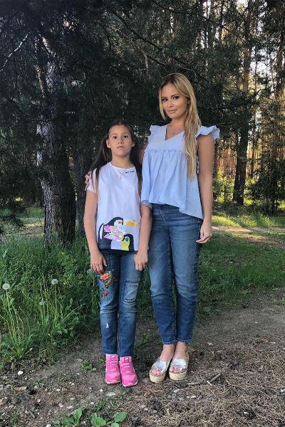 Дана Борисова скучает по ребенку