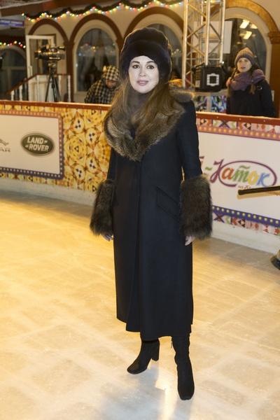 Анастасия Заворотнюк в конце 2018 года