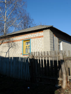 Дом, в котором сейчас живет в одиночестве Май