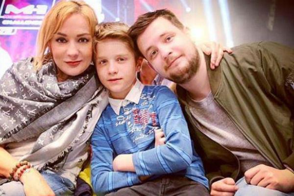 Татьяна с сыновьям Никитой и Александром