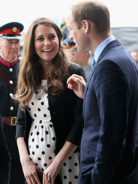 Кейт с мужем принцем Уильямом