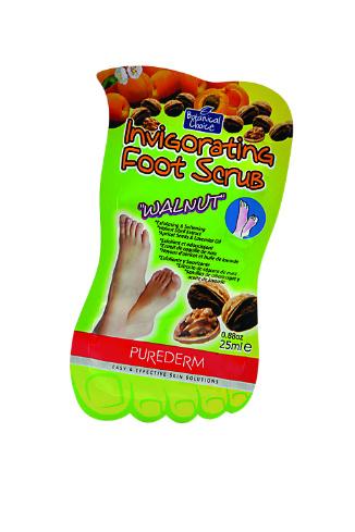 Purederm Скраб для ног Walnut, 85 руб.