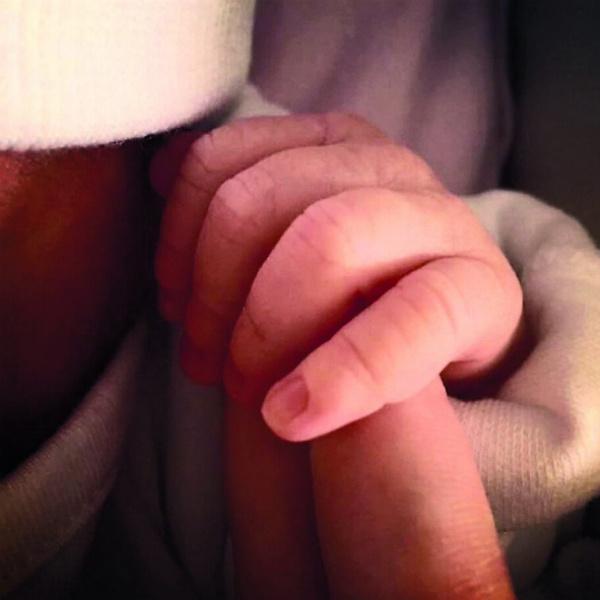 Савичева стала мамой 14 июля 2017 года. Фото из клиники, где родилась Аня Аршинова